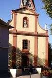 ST Georg Church Nieder-Olm Στοκ φωτογραφία με δικαίωμα ελεύθερης χρήσης