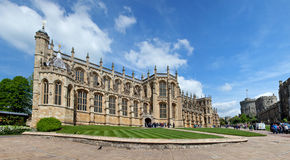St George's Kapel, Windsor Castle Royalty-vrije Stock Afbeeldingen