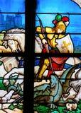 St George сражая дракона стоковые фото