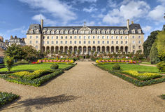 Дворец St. George в Ренне, Франции Стоковое фото RF