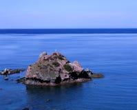 St George. 's Island, near the baths of Aphrodite, Cyprus stock photos