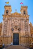 St George Basilica Facade Royalty Free Stock Photography