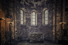 St. George Basilica interiors Stock Image