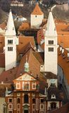 St. George  Basilica at the Prague Castle Royalty Free Stock Images