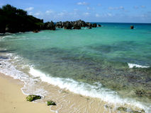 St. George Beach. A small beach, St. George, Bermuda royalty free stock photos