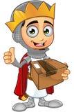 St. George Boy King Character Lizenzfreies Stockbild