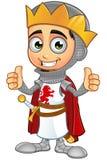 St. George Boy King Character Lizenzfreie Stockfotografie