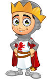 St George Boy King Character Images libres de droits