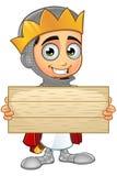 St. George Boy King Character Lizenzfreie Stockbilder