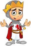 St. George Boy King Character Stockbild
