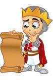 St. George Boy King Character Stock Photography
