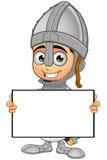 St. George Boy Knight Character Stockbild
