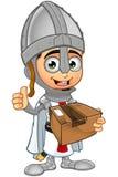 St. George Boy Knight Character Lizenzfreie Stockfotos