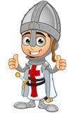 St. George Boy Knight Character Lizenzfreie Stockfotografie