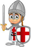 St. George Boy Knight Character Royalty Free Stock Image