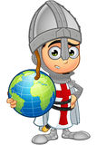 St. George Boy Knight Character Stock Photos