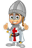 St. George Boy Knight Character. A illustration of a cartoon St. George Boy Knight character Royalty Free Stock Photography