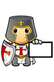 St George Cartoon Knight Royalty Free Stock Photography