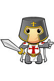 St George Cartoon Knight Stock Images