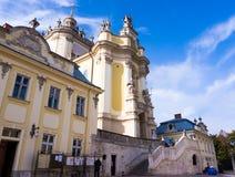 St George Cathedral à Lviv Photo libre de droits