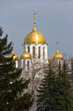 St. george cathedral. St. Georgy (victorious) cathedral at the Samarskay square Stock Images
