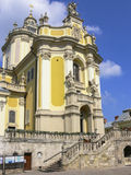 St George Cathedral in Lviv Stock Photo