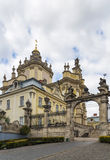 St. George Cathedral, Lviv, Ukraine Royalty Free Stock Photography