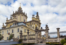 St. George Cathedral, Lviv, Ukraine Royalty Free Stock Images