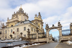 St. George Cathedral in Lviv Stock Photo