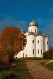 St George Cathedral in the Yuriev Monastery Royalty Free Stock Images