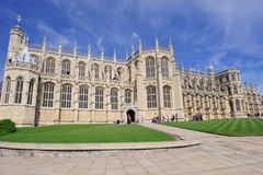 St. George Chapel at Windsor Royalty Free Stock Photos