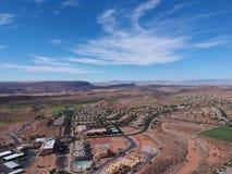 St George chez l'Utah images stock