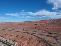 St George chez l'Utah photos libres de droits