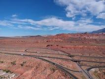 St George chez l'Utah photographie stock libre de droits