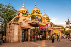 St. George church in Bahir Dar Royalty Free Stock Photography