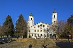 St. George Church in Historical town of Panagyurishte, Pazardzhik Region, Bulgaria. PANAGYURISHTE, BULGARIA - DECEMBER 13, 2013:St. George Church in Historical stock image