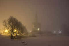 St George Church i St Petersburg Arkivbilder