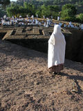 St George church, Lalibela, Ethiopia Stock Photography