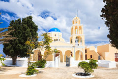 St George Church Oia Santorini Greec Royalty Free Stock Photos