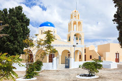 St George Church Oia Santorini Greec Royalty Free Stock Photo
