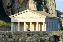 Church, Corfu, Greece. Church in hills of Corfu, Greece Royalty Free Stock Photo