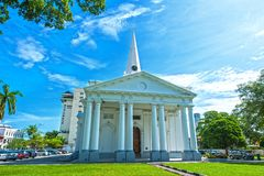 Free ST GEORGE CHURCH - PENANG Royalty Free Stock Image - 143866786