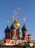 St. George Church on Pskov Hill (1657) Royalty Free Stock Photos