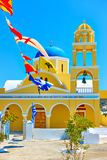 St George Church in Santorini royalty free stock photography