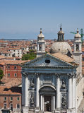 St George Church in Venice Royalty Free Stock Images