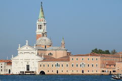 St. George church in Venice stock images
