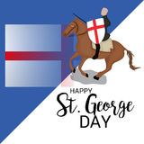 St George Day illustration stock