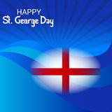 St. George Day. Illustration of a Banner for St. George Day Royalty Free Stock Images