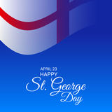 St. George Day. Illustration of a Banner for St. George Day Stock Photos