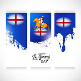 St. George Day. Illustration of a Banner for St. George Day Royalty Free Stock Image